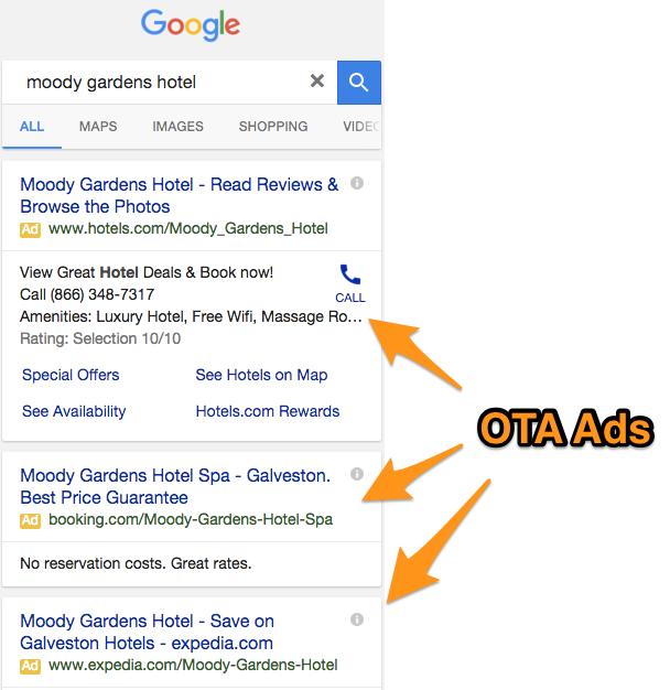 Moody Gardens Google Mobile