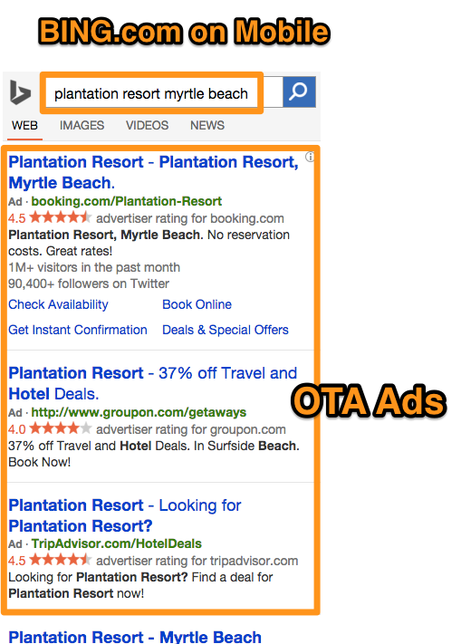 plantation_resort_myrtle_beach_-_Bing
